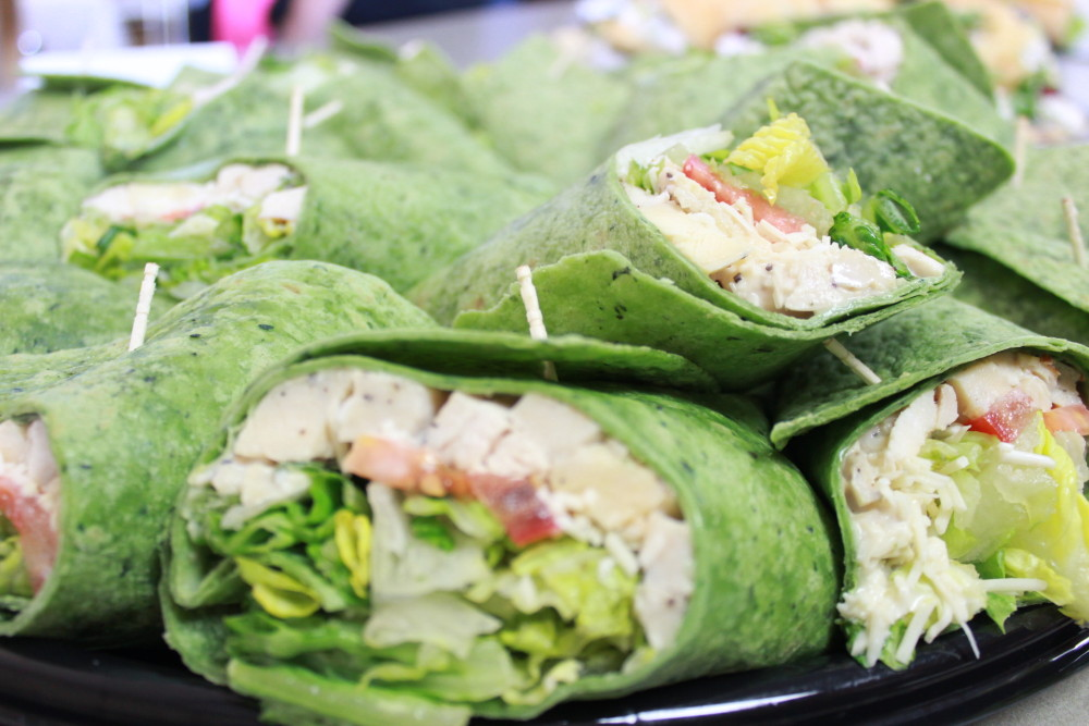 Wraps from the Cafe at Tamarac Wellness in Fremont Michigan
